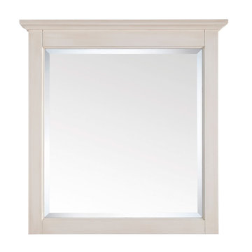 Avanity Tropica 30 Inch Antique White Mirror
