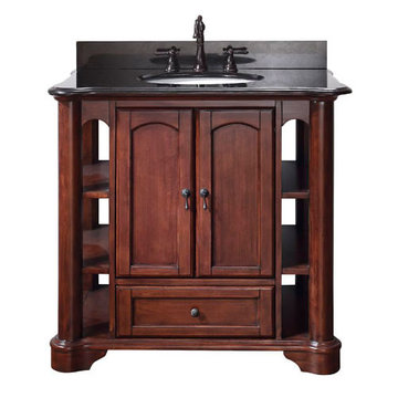 Avanity Vermont 36 Inch Vanity With Black Granite