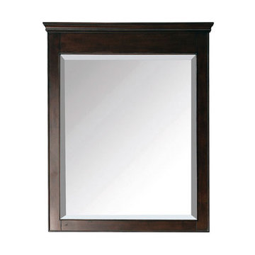 Avanity Windsor 30 Inch Walnut Mirror