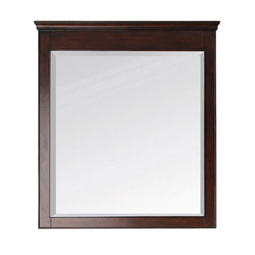 Avanity Windsor 34 Inch Walnut Mirror