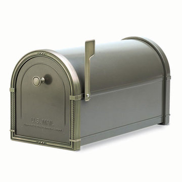 Architectural Mailboxes Coronado Bronze Post Mount Mailbox