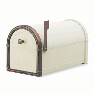 Architectural Mailboxes Coronado Sand Post Mount Mailbox