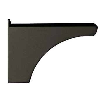 Architectural Mailboxes Decorative Post Side Support Bracket For One Mailbox