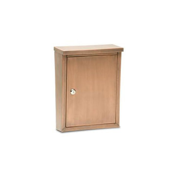 Architectural Mailboxes Laguna Smooth Locking Wall Mount Mailbox