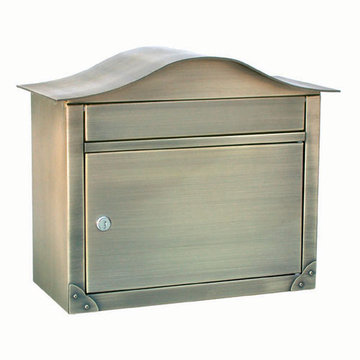 Architectural Mailboxes Peninsula Locking Wall Mount Mailbox