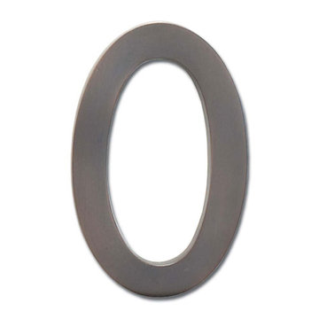 Architectural Mailboxes 4 Inch Dark Copper House Number