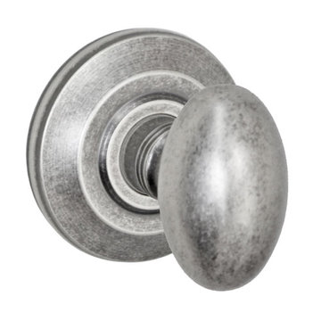 Fusion Elite Egg Knob Dummy Set With Cambridge Rose