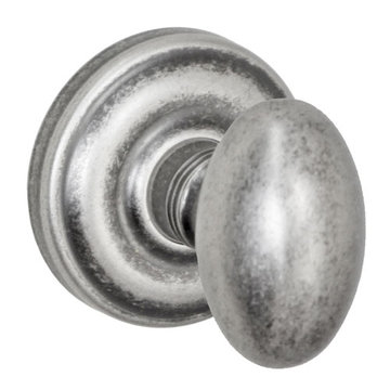 Fusion Elite Egg Knob Dummy Set With Ketme Rose