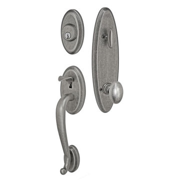Fusion Elite Quincy One Piece Interior Thumblatch To Egg Knob