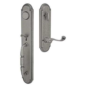 Fusion Elite Ravinia One Piece Dummy Interior Thumblatch To Ornate Lever