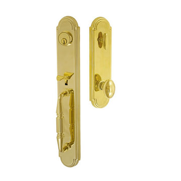 Fusion Elite Ravinia One Piece Interior Thumblatch To Egg Knob