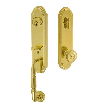 Fusion Elite Yorkshire One Piece Interior Thumblatch To Cambridge Knob