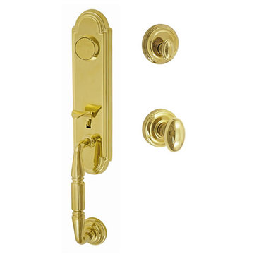 Fusion Elite Yorkshire Two Piece Dummy Interior Thumblatch To Egg Knob