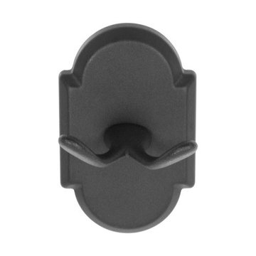 Delaney 1000 Series Double Robe Hook With Curved Backplate
