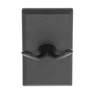 Delaney 1000 Series Double Robe Hook With Square Backplate