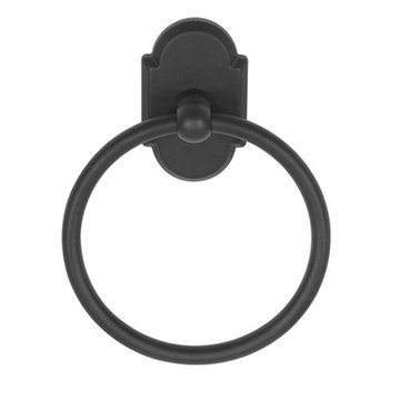 Delaney 1000 Series Towel Ring With Curved Backplate