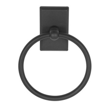 Delaney 1000 Series Towel Ring With Square Backplate