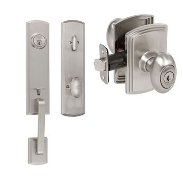 Delaney Callan Grade 2 Briona Dummy Thumblatch To Canova Knob Entry Set