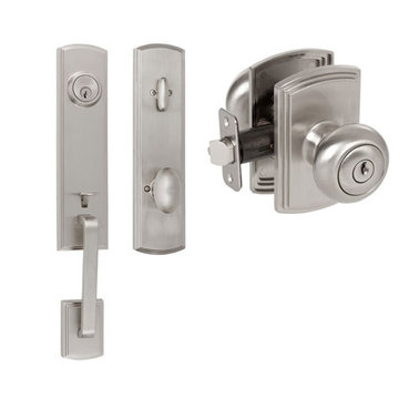 Delaney Callan Grade 2 Briona Dummy Thumblatch To Santo Knob Entry Set
