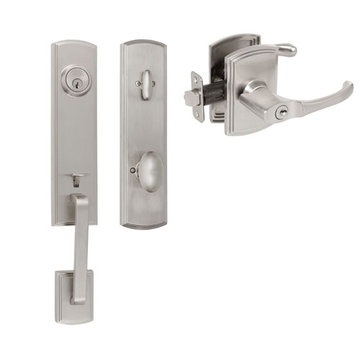 Delaney Callan Grade 2 Briona Single Cylinder Thumblatch To Artino Lever Entry Set