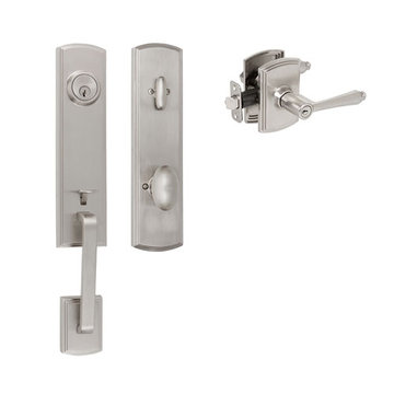 Delaney Callan Grade 2 Briona Single Cylinder Thumblatch To Florini Lever Entry Set