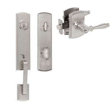 Delaney Callan Grade 2 Briona Single Cylinder Thumblatch To Sorado Lever Entry Set