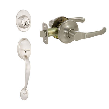 Delaney Callan Grade 2 Colton Dummy Thumblatch To Newport Lever Entry Set