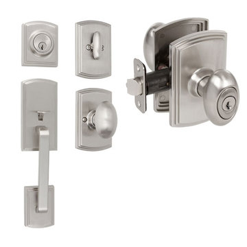 Delaney Callan Grade 2 Visconti Dummy Thumblatch To Canova Knob Entry Set
