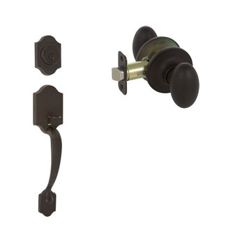 Delaney Callan Grade 3 Chatham Double Cylinder Thumblatch To Carlyle Knob Entry Set