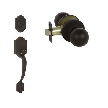 Delaney Callan Grade 3 Chatham Double Cylinder Thumblatch To Fairfield Knob Entry Set