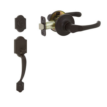 Delaney Callan Grade 3 Chatham Double Cylinder Thumblatch To Newport Lever Entry Set