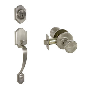 Delaney Callan Grade 3 Chatham Single Cylinder Thumblatch To Brayden Knob Entry Set