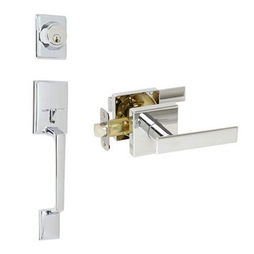 Delaney Designer Series Capri Dummy Thumblatch To Kira Lever Entry Set