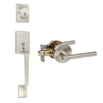 Delaney Designer Series Capri Single Cylinder Thumblatch To Cira Lever Entry Set