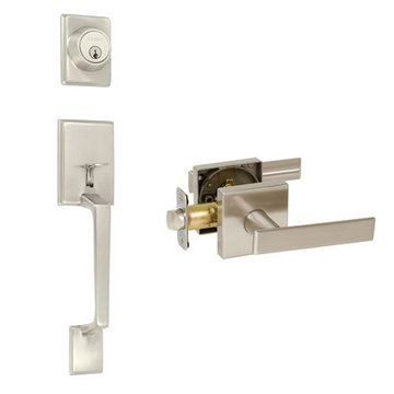 Delaney Designer Series Capri Single Cylinder Thumblatch To Kira Lever Entry Set