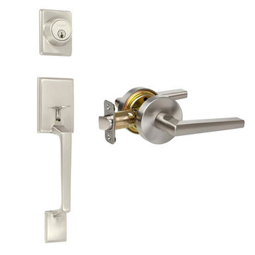 Delaney Designer Series Capri Single Cylinder Thumblatch To Vida Lever Entry Set