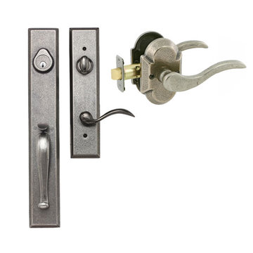 Delaney Designer Series Cordoba Dummy Thumblatch To Ronda Lever Entry Set