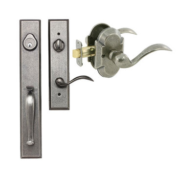 Delaney Designer Series Cordoba Dummy Thumblatch To Tiara Lever Entry Set