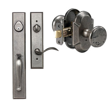 Delaney Designer Series Cordoba Dummy Thumblatch To Tulum Knob Entry Set