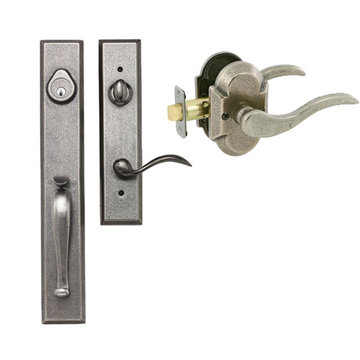 Delaney Designer Series Cordoba Single Cylinder Thumblatch To Ronda Lever Entry Set