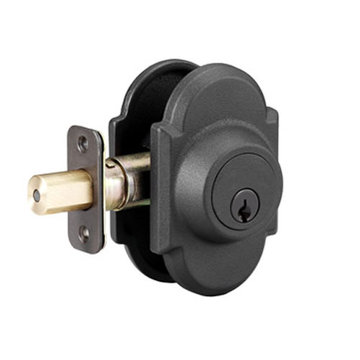 Delaney Designer Series Curved Sandcast Single Cylinder Deadbolt