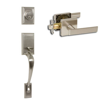 Delaney Designer Series Kellington Dummy Thumblatch To Kira Lever Entry Set