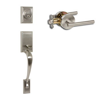 Delaney Designer Series Kellington Single Cylinder Thumblatch To Cira Lever Entry Set