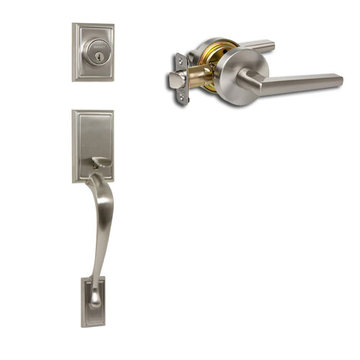 Delaney Designer Series Kellington Single Cylinder Thumblatch To Vida Lever Entry Set