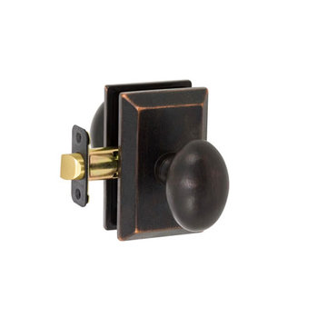 Delaney Designer Series Sorrento Square Backplate Dummy Knob Set