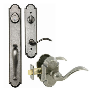 Delaney Designer Series Valero Single Cylinder Thumblatch To Tiara Lever Entry Set