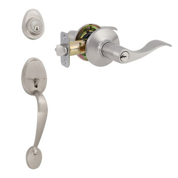 Delaney Designer Series Waterford Double Cylinder Thumblatch To Royal Lever Entry Set
