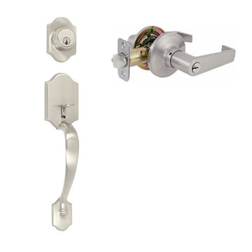 Delaney Ezset Imperial Residential Dummy Thumblatch To Escort Lever Entry Set
