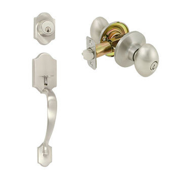 Delaney Ezset Imperial Residential Dummy Thumblatch To Ruby Knob Entry Set
