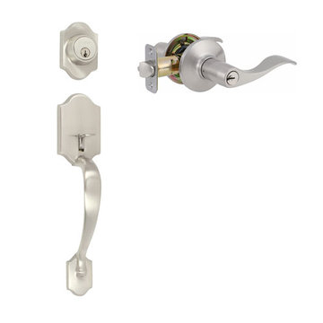 Delaney Ezset Imperial Residential Single Cylinder Thumblatch To Royal Lever Entry Set